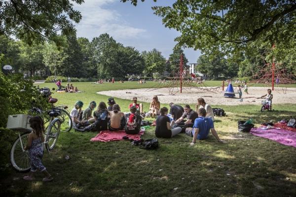 Nederland, Groningen 20130725. Noorderplansoen. foto: Pepijn van den Broeke